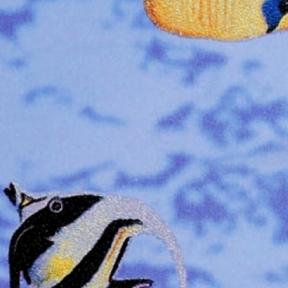 Самоклейка Gekkofix (Рыбки) 45см х 15м 10971