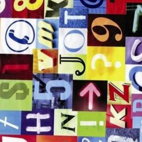 Самоклейка Gekkofix (Цветной алфавит) 45см х 15м 12876