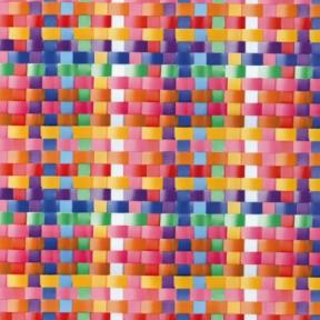 Самоклейка Gekkofix (Цветное плетение) 45см х 15м 12903