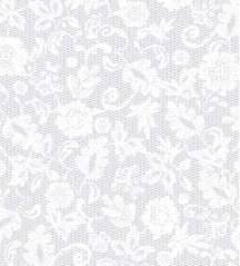 Самоклейка Gekkofix (Белые цветы) 45см х 15м 13549
