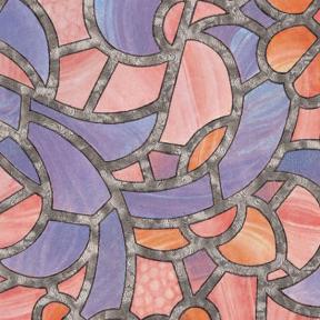 Самоклейка Gekkofix (Цветное стекло) 67,5см х 15м 10381