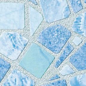Самоклейка Gekkofix (Голубая мозаика) 67,5см х 15м 10741