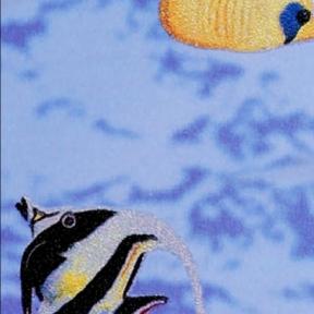 Самоклейка Gekkofix (Рыбки) 67,5см х 1м 10973