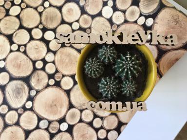 Самоклейка Gekkofix (Деревянный сруб) 67,5см х 15м 11615