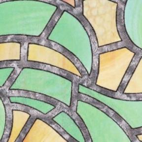 Самоклейка Gekkofix (Цветное стекло) 90см х 15м 10426