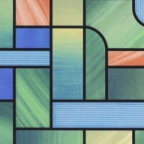 Самоклейка Gekkofix (Цветное стекло) 90см х 15м 10653