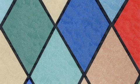 Самоклейка Patifix (Цветные ромбики) 45см х 15м 11-2275