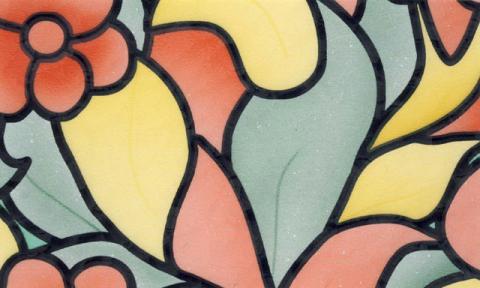 Самоклейка Patifix (Цветы) 67.5см х 15м 61-2250