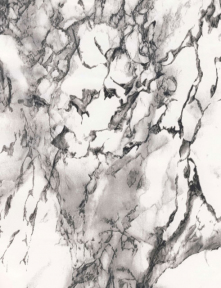 Самоклейка Patifix (Чёрно-белый мрамор) 90см х 15м 93-4045