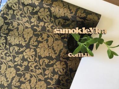 Самоклейка Hongda (Винтажные цветы) 45см х 1м H5405-1