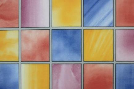 Самоклейка Hongda (Разноцветное окошко) 67,5см х 1м Ht032