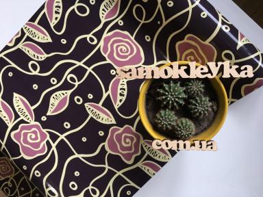 Самоклейка Hongda (Нежная роза) 45см х 15м H5522-1