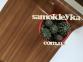 Самоклейка Hongda (Тёмное дерево) 45см х 15м Hm007-2