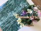 Самоклейка Hongda (Зеленый мрамор) 90см х 1м H5214