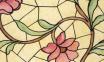 Самоклейка Patifix (Витражные цветы) 90см х 1м 91-2240